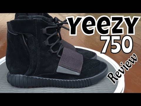 Adidas Yeezy 750 Boost All Black