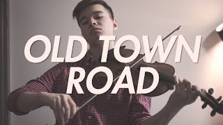 old town road but it's on violin | AMoney Cover