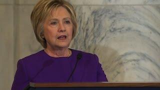 Hillary Clinton Marks Passing of John Glenn