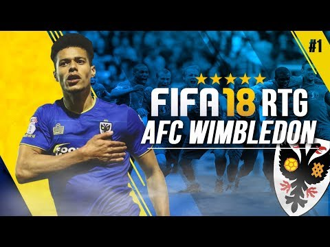 *NEW SERIES* FIFA 18 | AFC WIMBELDON ROAD TO GLORY CAREER MODE!!! | YOU PICK MY FIRST SIGNINGS [#1]