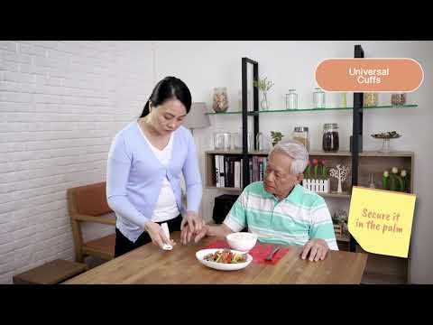 Assistive Devices For Daily Living: Feeding - Universal Cuffs