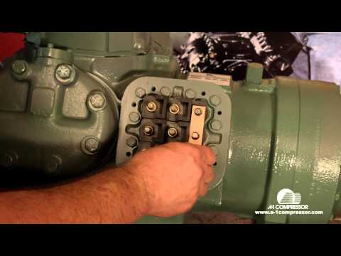 How To Part Wind Start Wire a 06E Carrier Compressor