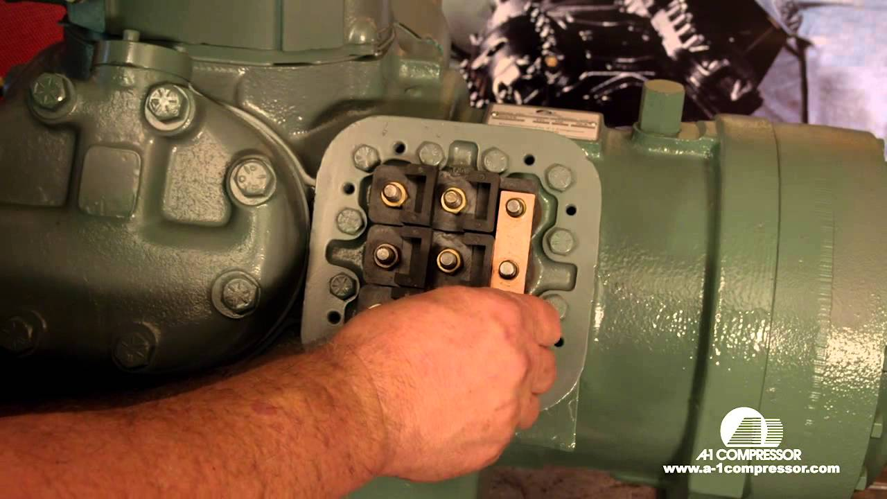 How To Part Wind Start Wire a 06E Carrier Compressor  YouTube