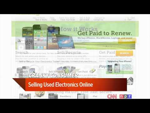 Selling Used Electronics Online
