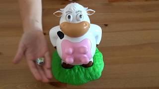 Gra Dojenie Krowy Muu Cobi 🐮 super zabawka dla dzieci ~ Silly Moo