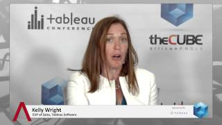 Kelly Wright - Tableau Conference 2014 - theCUBE
