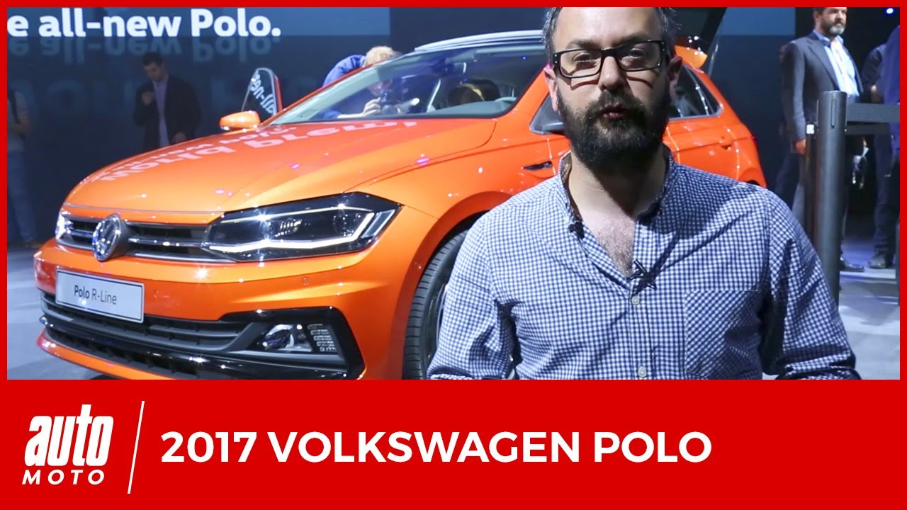 nouvelle volkswagen polo 2017 presentation youtube. Black Bedroom Furniture Sets. Home Design Ideas