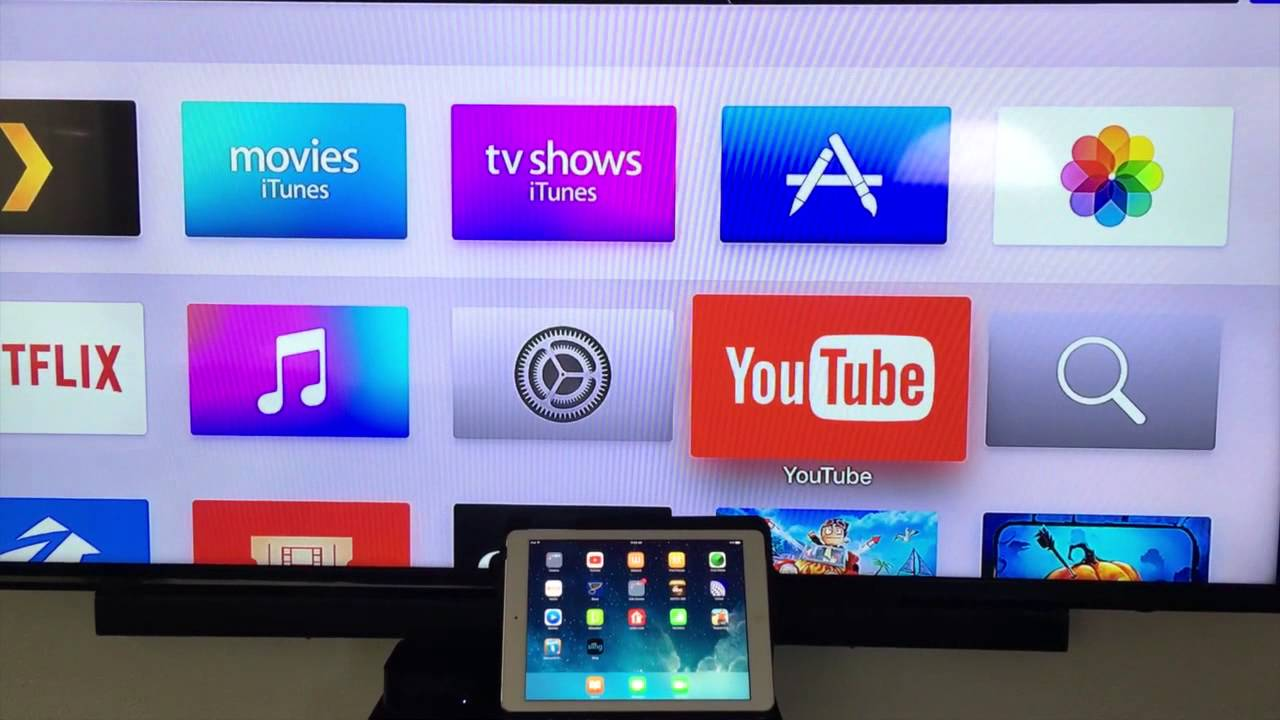 how to play youtube on apple tv