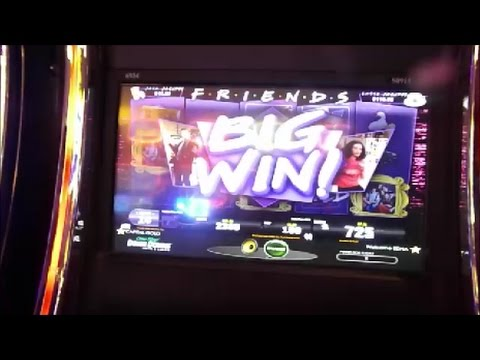 FRIENDS! Slot Machine | We Were On A Break BONUS GAME! | Dover Downs Casino