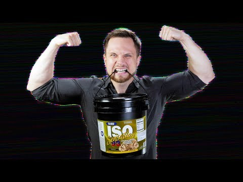 """""""Дизайнерский"""" прот. Ultimate Nutrition ISO Sensation 93. Обзор изолята"""