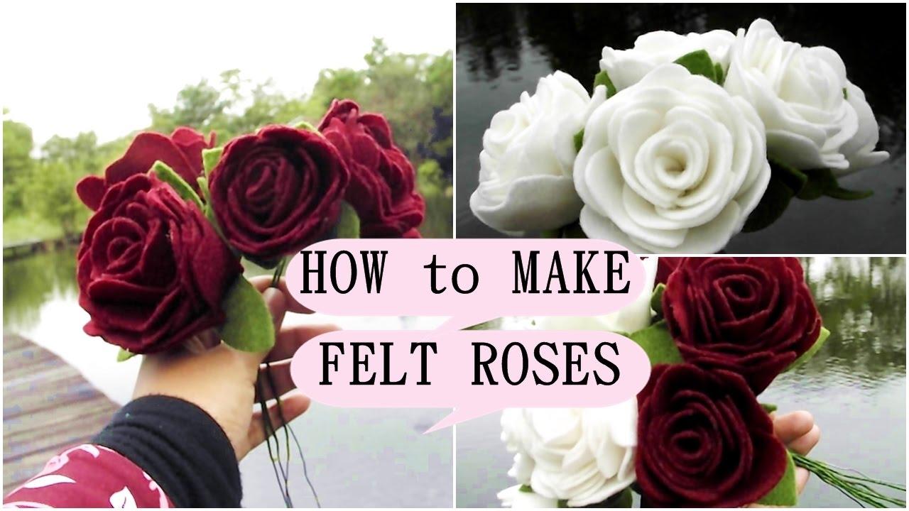 Cara Membuat Bunga Flanel Untuk Wisuda By Desembri Yesti Youtube
