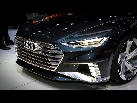 2018 New Audi A8: DRIVING Audi AI Remote Parking Pilot
