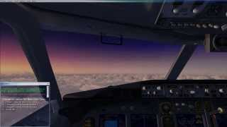 Flight Simulator X: Steam Edition. NewYork JFK to Toronto CYYZ full flight. [No commentary]