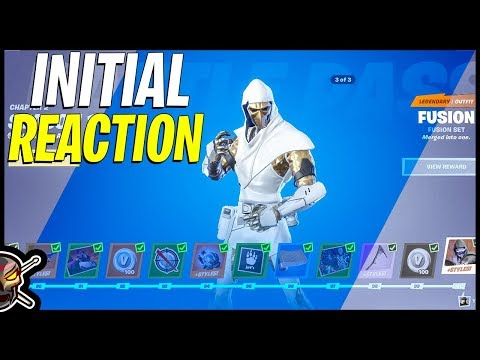 Fortnite Chapter 2 Season 1 Battle Pass Reaction - Buying All Tiers
