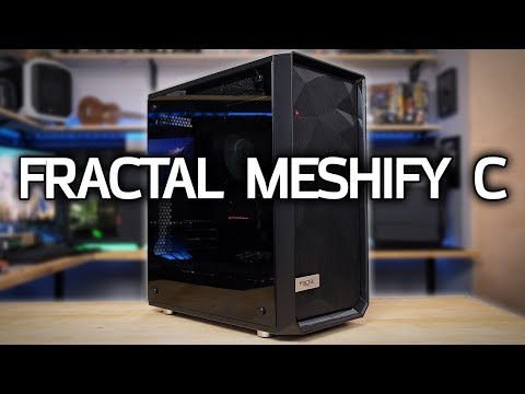 Building a PC in the NEW Fractal Meshify C!