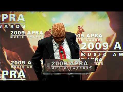 2009 APRA Music Awards Breakthrough Songwriter of the Year  Geoffrey Gurrumul Yunupingu