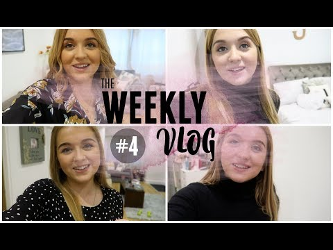 Weekly Vlog #4: Food Shop and Packing