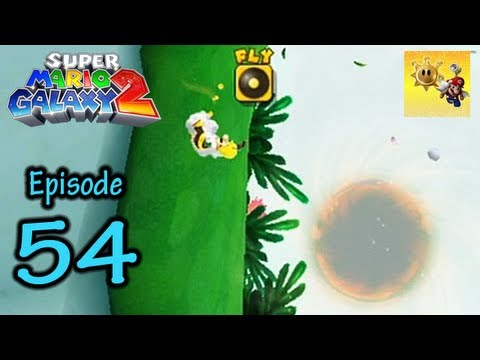 Let's Play Super Mario Galaxy 2 - Part 54 - Glitchy Black Hole