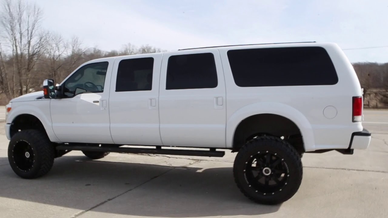 Ford Excursion 2016 >> 2016 Ford 4x4 Excursion 6 Door Conversion Only 16k Miles