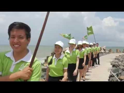 Team Building An Tín Travel Bình Thuận tưng bừng sức trẻ