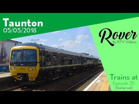 Trains at Taunton, GWML - 5/5/18