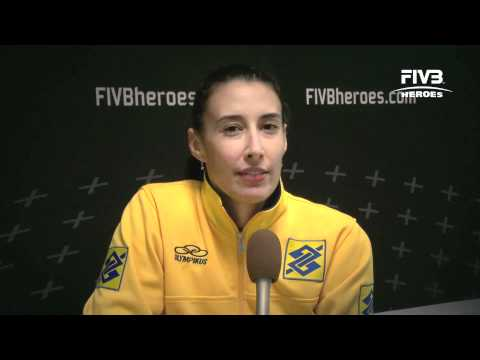 Interview with Sheilla Castro at the World Grand Prix 2011 in Macau