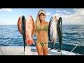 Offshore Fishing Multi Species SUPPER Slam!  Mahi, Mutton, Tuna & MORE!