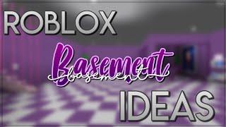 BASEMENT IDEAS!! || Roblox Bloxburg