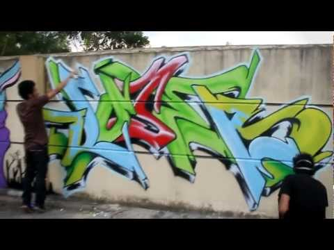 Loserkids Pekanbaru Street Art Bombing 2011