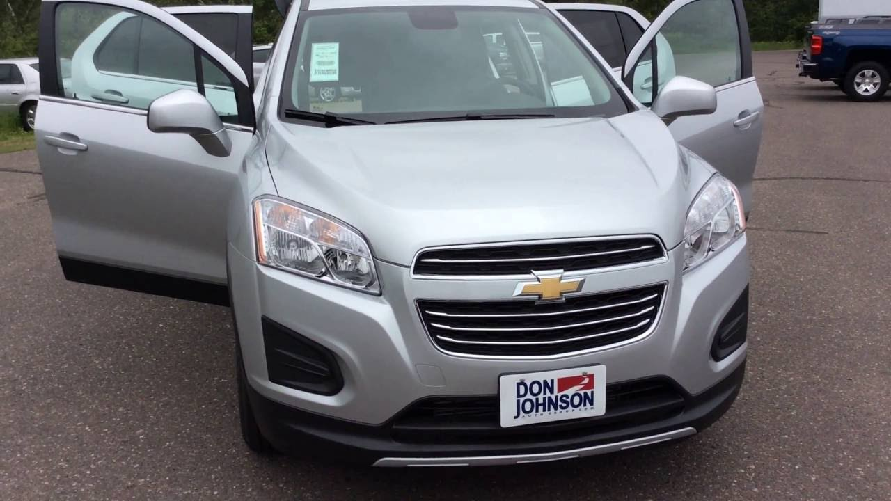 2016 chevrolet trax awd lt silver ice metallic at don for Don johnson hayward motors