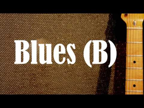 Chicago Blues Backing Track (B)