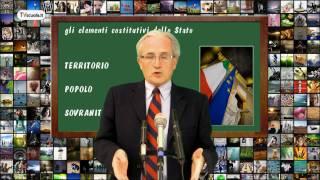 Diritto 07  Gli elementi costitutivi dello stato.