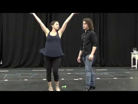 Evita (in Rehearsal)