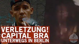 Capital Bra erleidet blutige Kopfverletzung in Berlin!