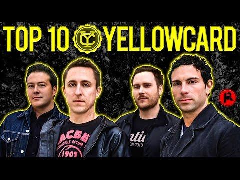 TOP 10 YELLOWCARD SONGS (RIP Yellowcard)