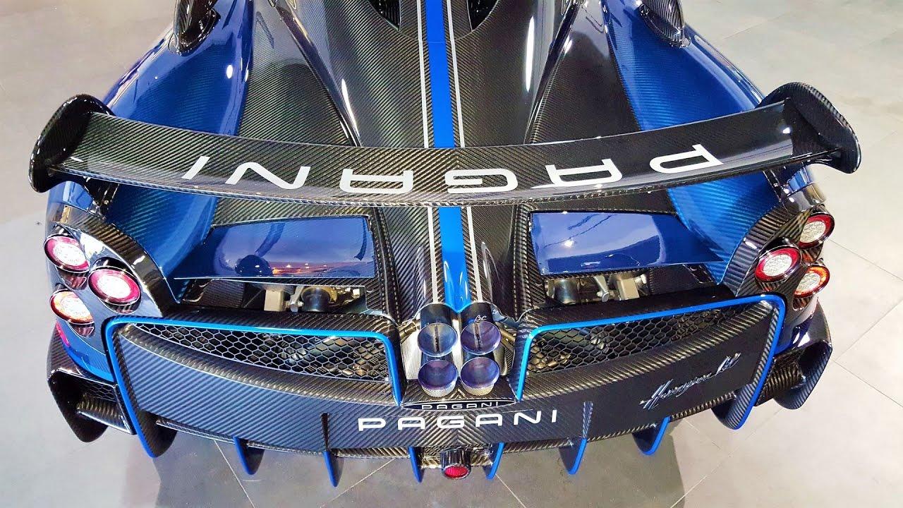 Pagani Huayra Bc Macchina Volante Flying Machine Blue Beast