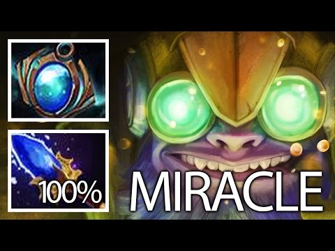 Amazing MICRO Best Tinker by Miracle Top 1 MMR World Dota