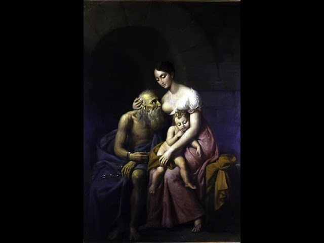 roman charity story daughter breastfeeding her old father to make him alive real unpredictable facts