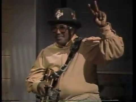 Bo Diddley on Late Night, February 27, 1986
