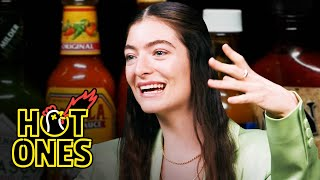 Lorde Drops the Mic While Eating Spicy Wings | Hot Ones
