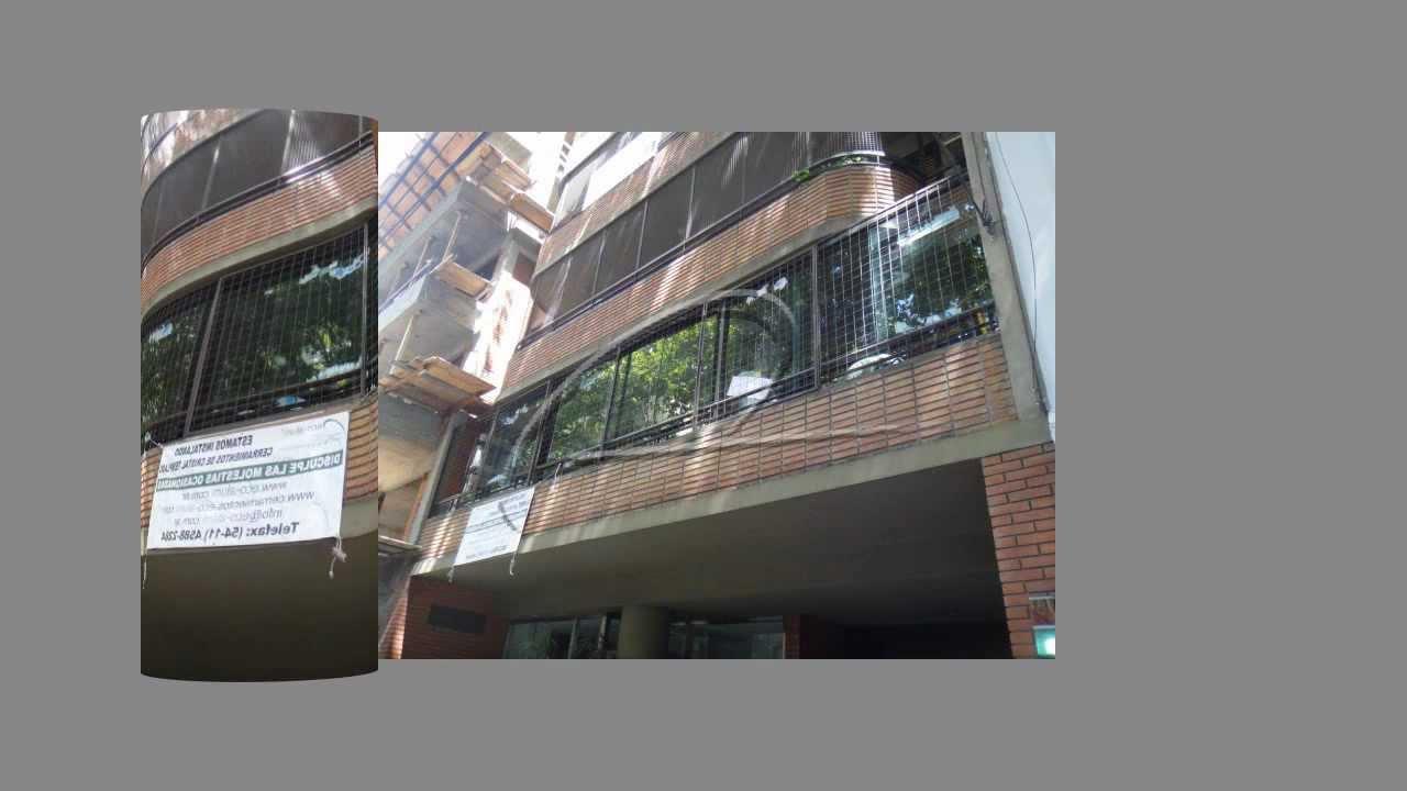 Cerramiento de balc n de cristal templado y aberturas de - Cerramientos de aluminio para balcones ...