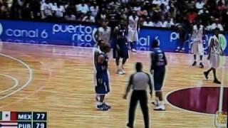 baloncesto puerto rico vs mexico por el oro centroamericanos 2010