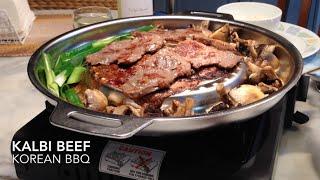 Kalbi Or Galbi Beef Korean Bbq  갈비구이  Cheekyricho Video Recipe