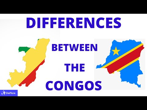 The DIFFERENCES Between The Republic of CONGO and The Democratic Republic of CONGO