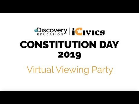 Constitution Day 2019 Virtual Viewing Party