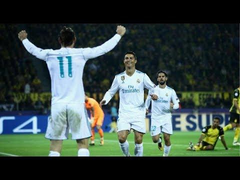 B. Dortmund 1 Real Madrid 3   Goles   Audio Cope   Champions 2017/18