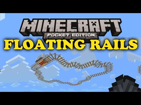 How do you make rails in minecraft pe server