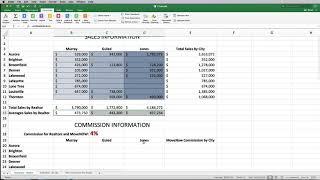 Cis 118 Excel Capstone Project Youtube