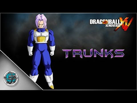 Dragon Ball Xenoverse - Character Creation: Future Trunks