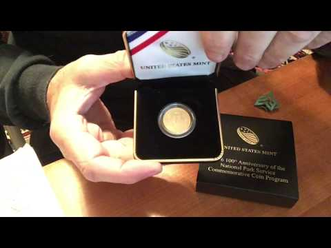 Gold US Mint National Park Service Coins